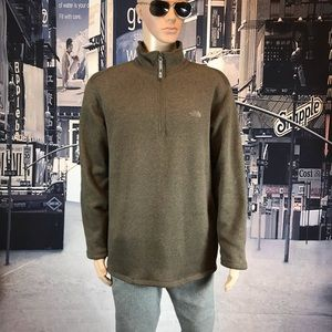 The North Face sweater zip up collar size XL
